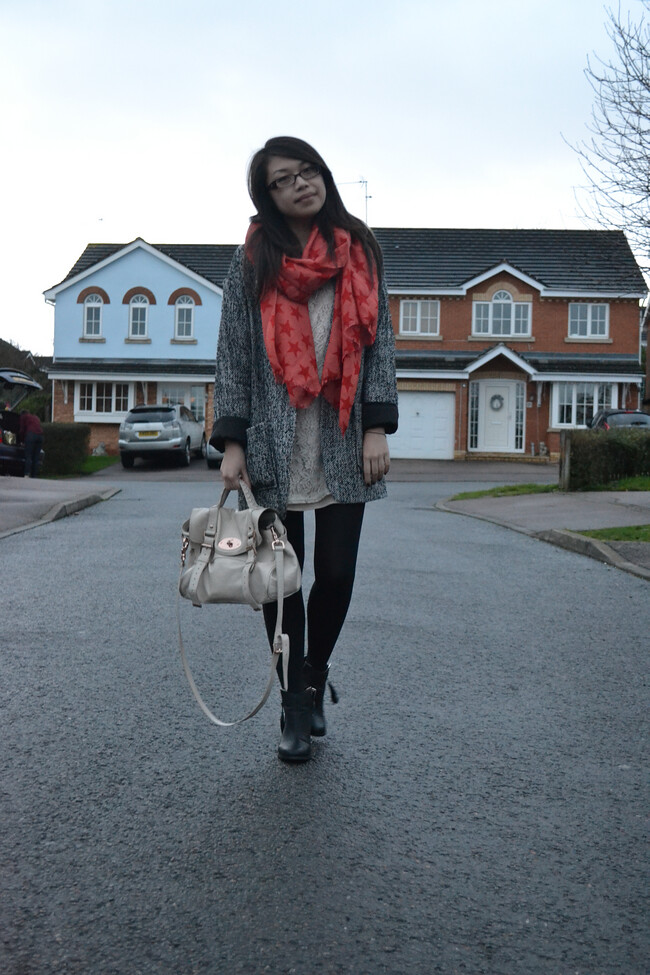 daisybutter - UK Style and Fashion Blog: what i wore, ootd, fashion blogger, AW12