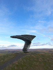 The Singing Ringing Tree, Crown Point, Burnley, Lancashire (SD 851289) [HDR Composite Image]
