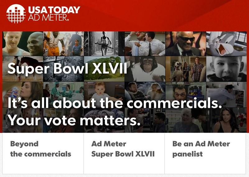 Ad Meter - USATODAY.com