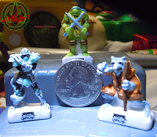 PRIME :: TORTUES NINJA  porcelain miniature prototypes vii / scale (( 2009 ))