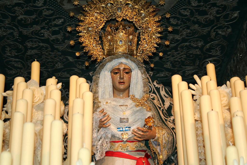 Paso de Nuestra Señora de la Candelaria, 2012