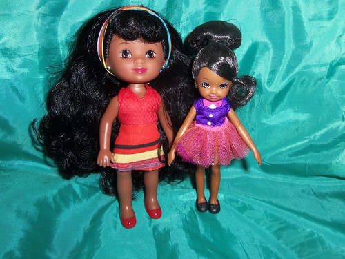 Mini Kenya and Zahara by Black Doll Enthusiast