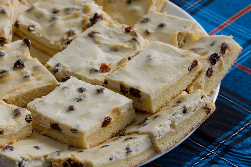 Kohupiima-plaadikook / Estonian curd cheese cake
