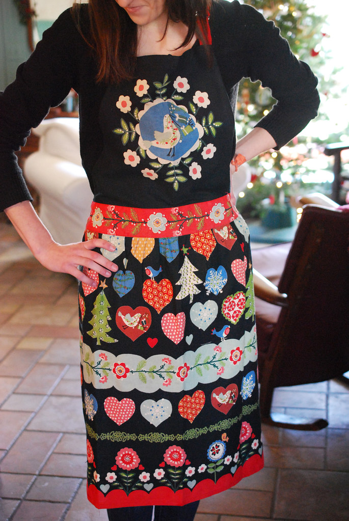 Our new apron