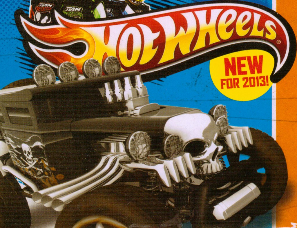hot wheels 2013 baja bone shaker card art