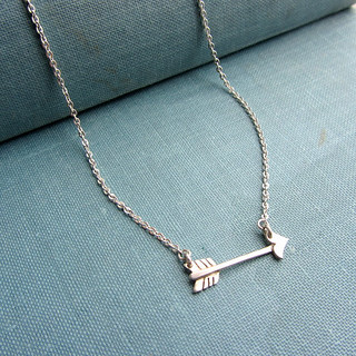 Necklace arrow sterling silver