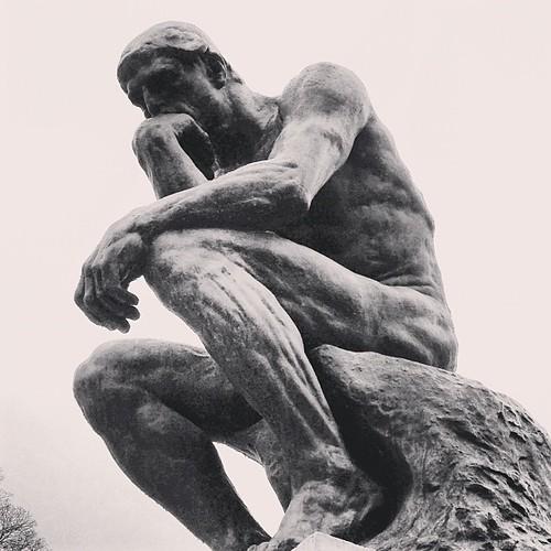 Le Penseur #inquietoparis