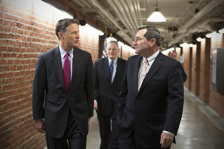 Sens. Donnelly, Birch and Evan Bayh on Swearing In Day