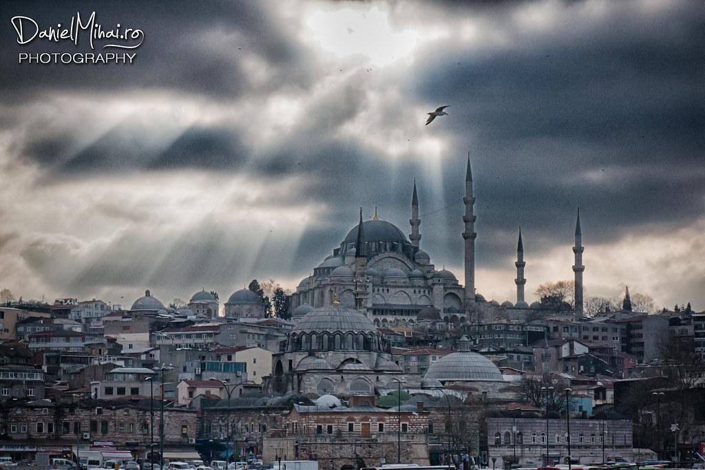 Suleymaniye Mosque, Istanbul by Daniel Mihai