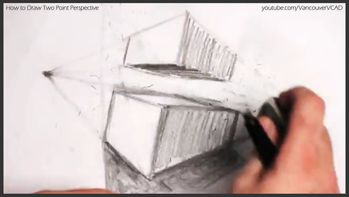 2D design how to draw in two point perspective 019
