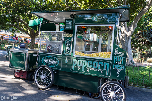 New Orleans Popcorn Cart