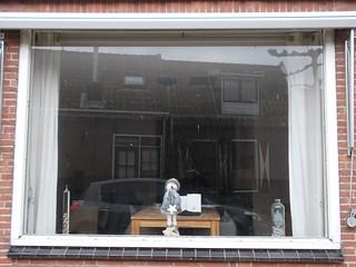 The wonderful windows open houses on the Dutch( Volendam) 4