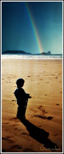 blue shadow sea sky sun dylan beach swansea rainbow sand gower glas myboy spade tywod awyr traeth enfys abertawe nikond80 brynmeillion ygwyr westgalmorgan cymruwles rocksipiccy