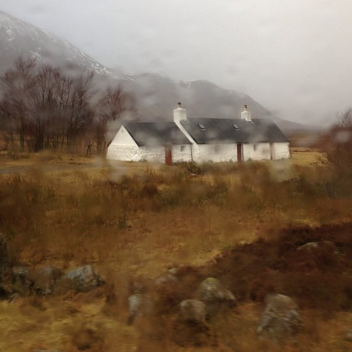 Scottish Highlands, where raindrops provide clarity #blogmanay