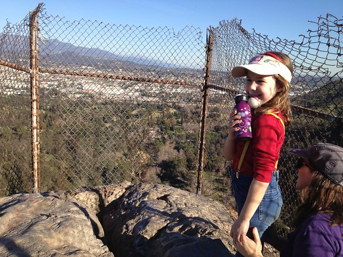 Bee Rock Hike 01-19-13