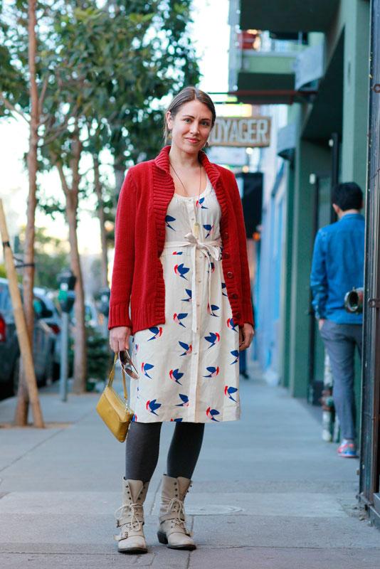 lani street style, street fashion, women, San Francisco, Valencia Street