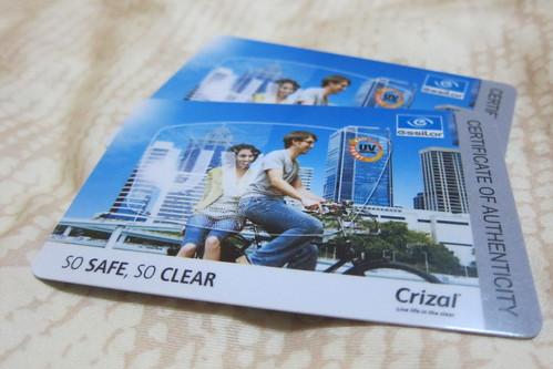 Crizal UV Singapore