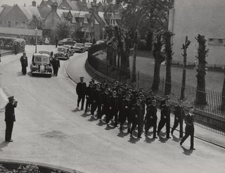 Funeral of Chief Constable John R Johnstone Inverness-shire Constabulary 1962