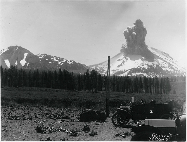 Lassen Peak Eruption #2