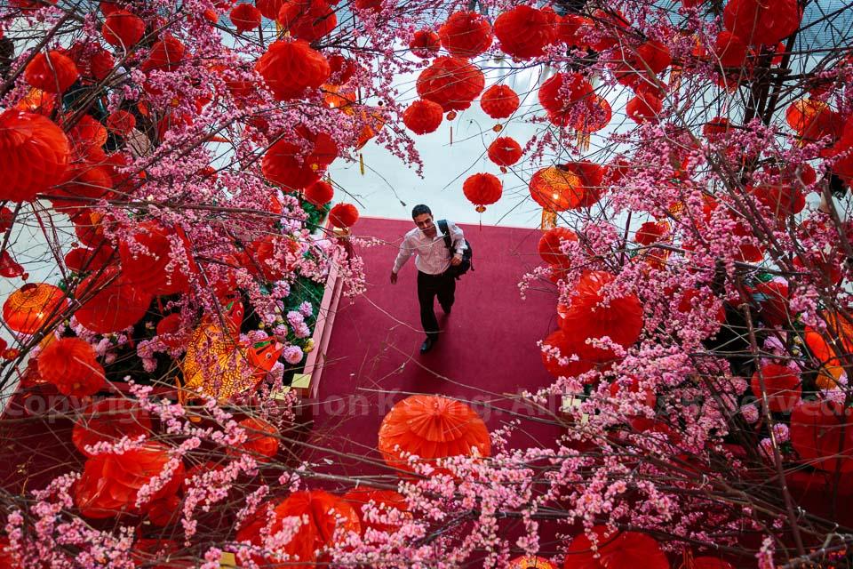 Chinese New Year Decorations @ Pavilion, Kuala Lumpur, Malaysia