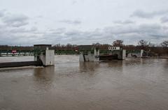 La Moselle - Barrage d'Argancy