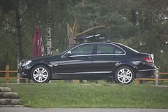 mercedes-benz e-class(0.0), automobile(1.0), automotive exterior(1.0), executive car(1.0), mercedes-benz w212(1.0), wheel(1.0), vehicle(1.0), mercedes-benz w221(1.0), automotive design(1.0), mercedes-benz(1.0), rim(1.0), mid-size car(1.0), compact car(1.0), bumper(1.0), mercedes-benz c-class(1.0), sedan(1.0), land vehicle(1.0), luxury vehicle(1.0),