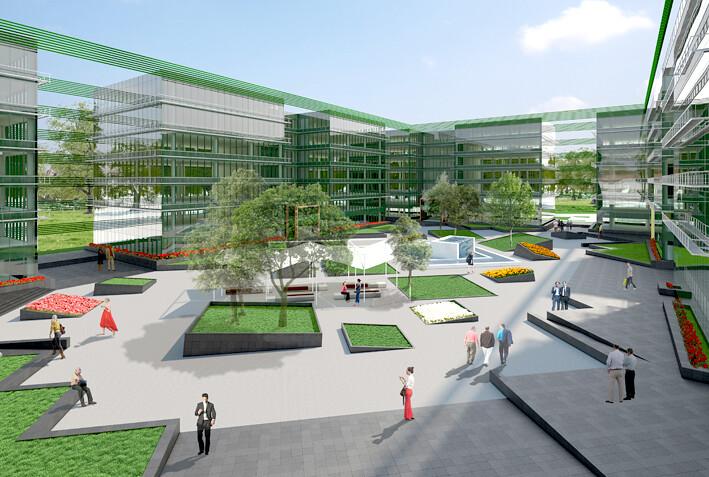 London regional compra el parque empresarial avenida de for Oficinas sabadell madrid