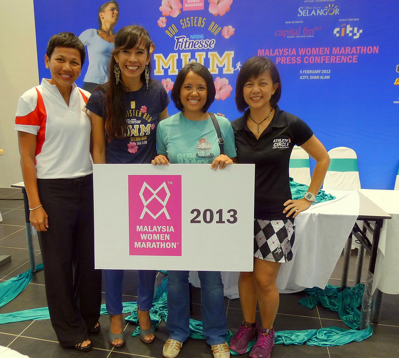 Fairy at Malaysia Women Marathon press conference
