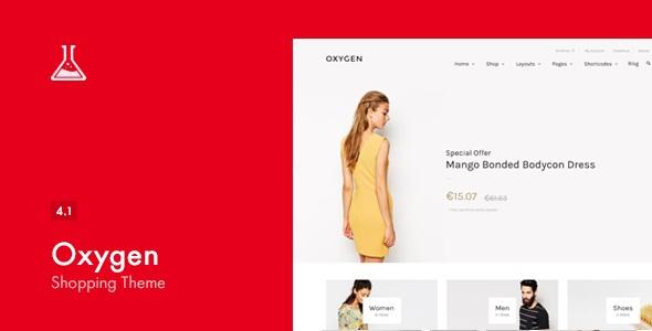 Oxygen v4.1 - WooCommerce WordPress Theme