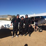 Static Line Student Skydiving
