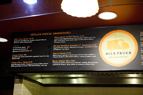 Grilled Cheese Sandwich Menu
