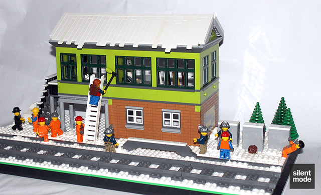 38 The Making of Winter Village Signal Box