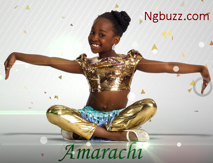Amarachi wins Nigeria Got talent season 1
