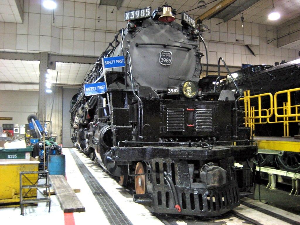 Union Pacific 5511 Restoration – Billy Knight