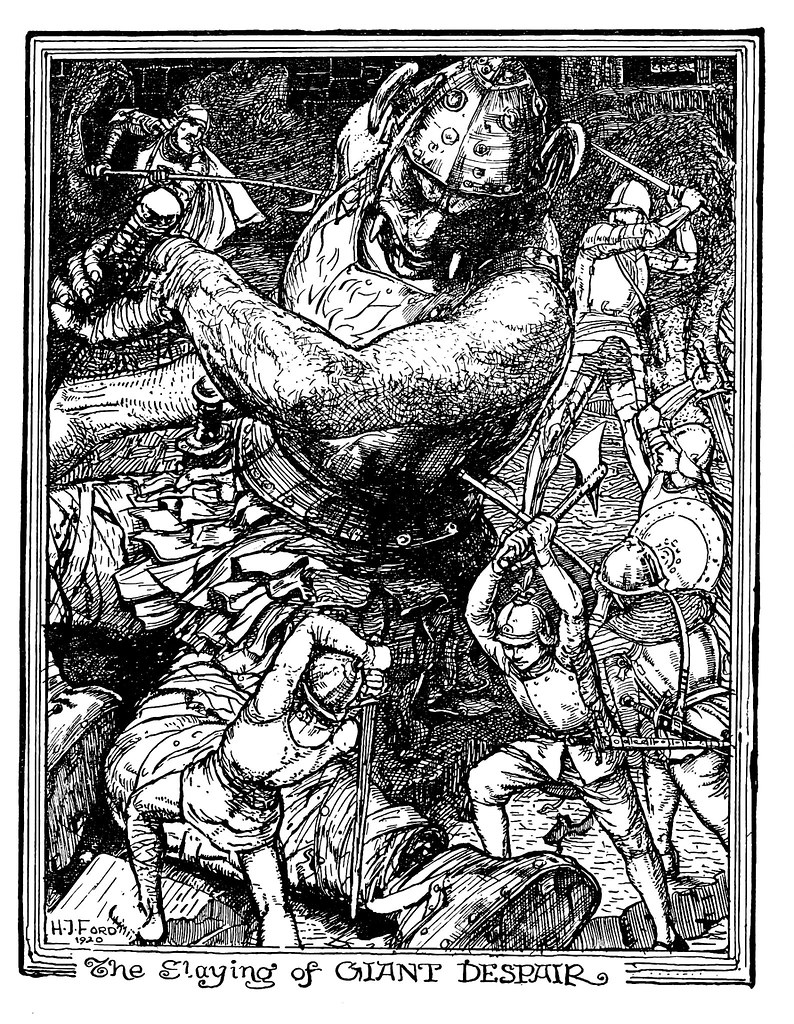 Henry Justice Ford - The pilgrim's progress by John Bunyan ; an edition for children arranged by Jean Marian Matthew, 1922 (illustration 7)