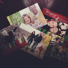 My favorite thing about our holiday card pile this year is seeing my images smiling back at me :)