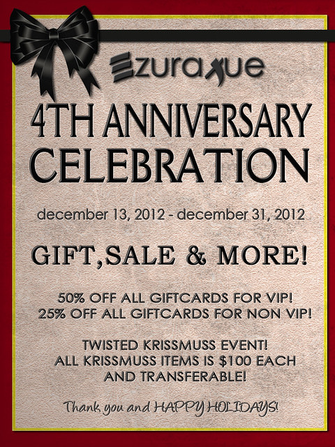 ezura Xue + 4th ANNIVERSARY CELEBRATION