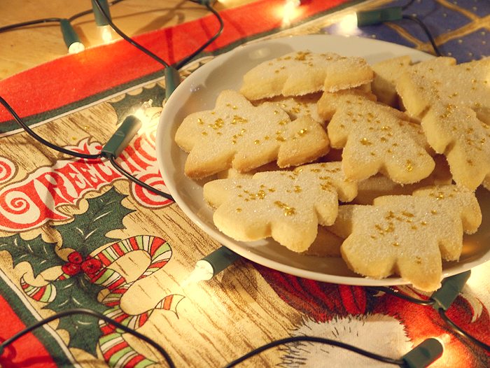christmas tree shortbread recipe 1