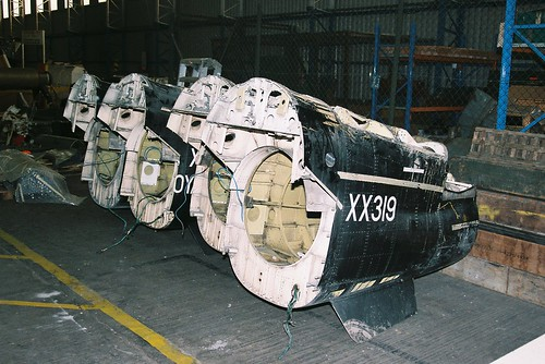XX319 + 3 Hawk Rear Fuselage