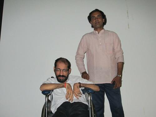 @ David Hall with Raju