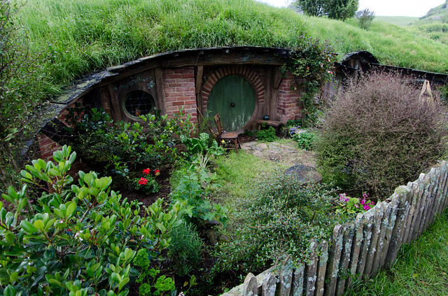 แบบบ้านหลังเล็ก ๆ แบบบ้านฮอบบิท