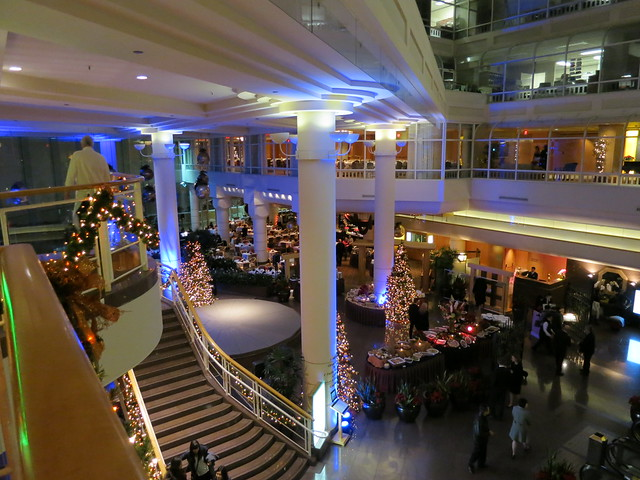 Christmas at the Pan Pacific Hotel
