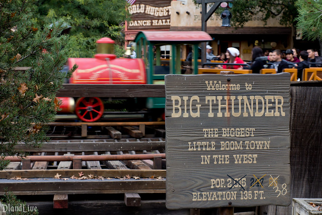 Big Thunder Sign
