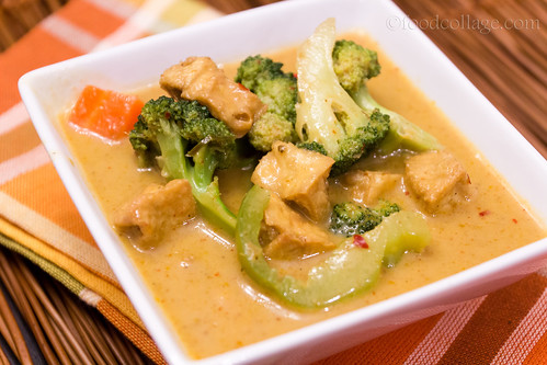 Penang Curry Tofu from Red Orchid