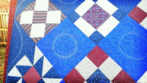 quilt of valor by CampFollowerBagLady