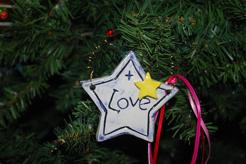 Ornament I received in HMQG swap