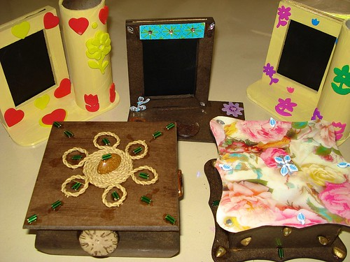 Arts and Crafts classes is one of the many classes offered at AAVE. Here are some samples of the students work