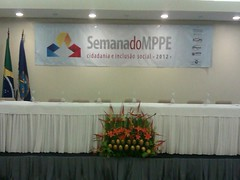 Global do Brasil presente no Seminário da Semana do MPPE