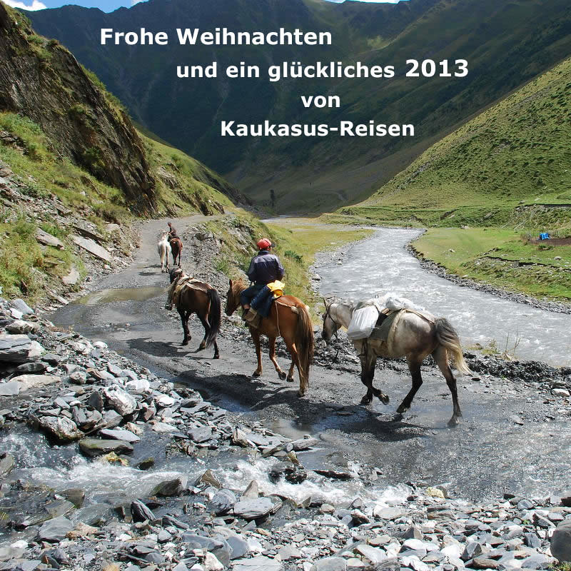 2013 Kaukasus-Reisen