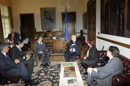 OAS Secretary General Receives Deputy Minister of Ministry of Security Coordination of Ecuador